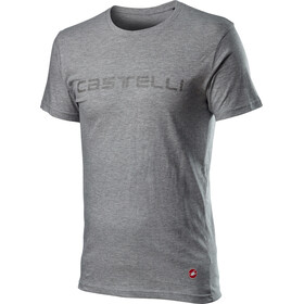 Castelli Sprinter Tee Men, melange light grey